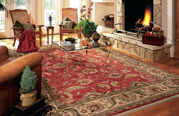فرش ماشینی در خانه