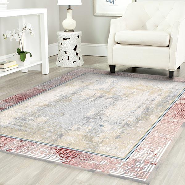 فرش مدرن ورساچه - فرش ماشینی فانتزی