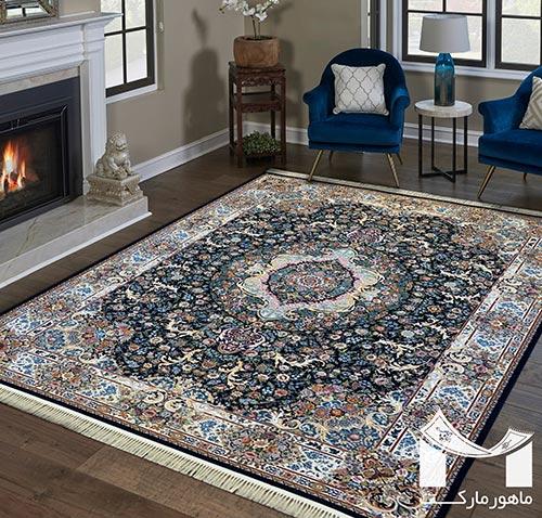 فرش ارکیده 1200 شانه گل برجسته
